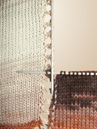Вяжем свитер «летучая мышь» из меланжевой пряжи, фото № 3