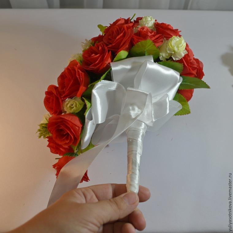 Искусственный букет дублер невесты своими руками