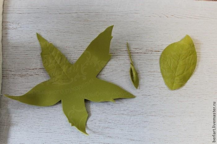 Классическая роза из фоамирана. Автор МК Колыбель искусства