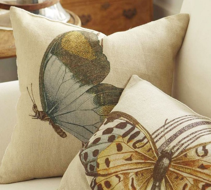 Бабочки как элемент дизайна интерьера, фото № 22