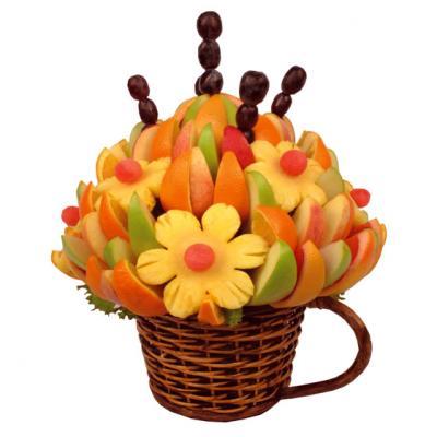 фрукты, букет из фруктов
