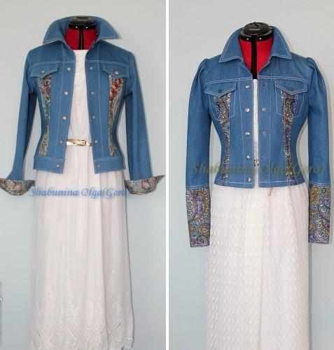 джинсовый стиль, женская одежда