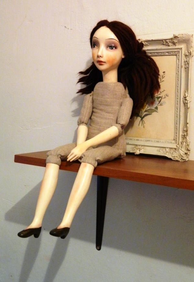 Как сделать будуарную куклу фото 948