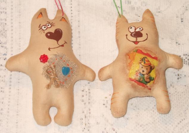 коты, слон, текстильная кукла, текстильные куклы, подарок своими руками, ароматерапия
