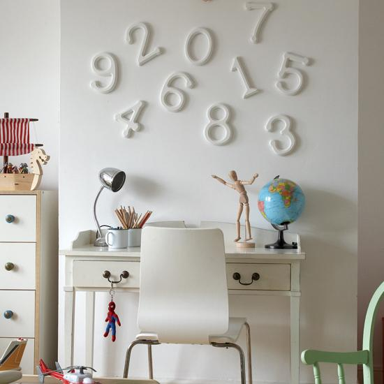 Мысли на виду! (или 60 идей декора стен с помощью слов, букв и цифр), фото № 55