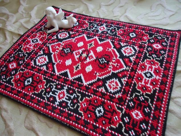 Картинки коврик для куклы новогодний