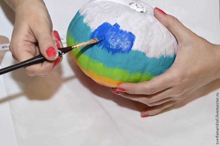 разноцветная тыква