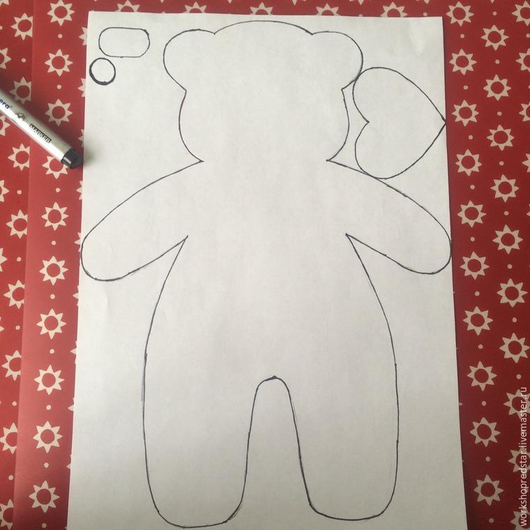 Медвежонок сшить своими руками 680