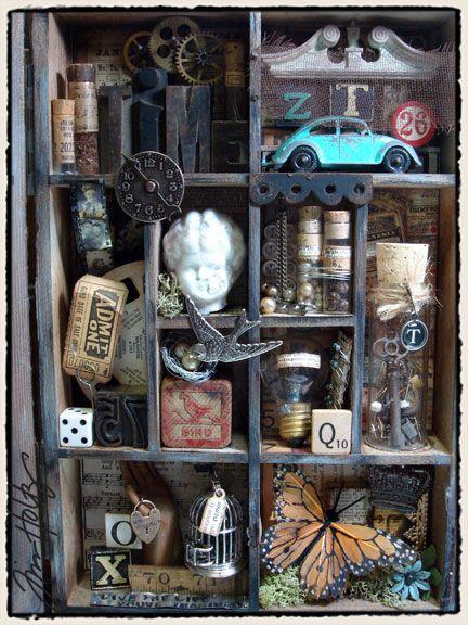 ассамбляж, воспоминания, награды, старые вещи