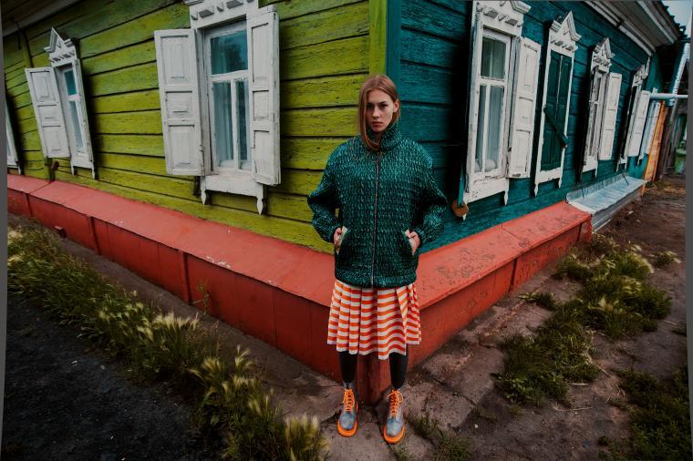 русский, платье