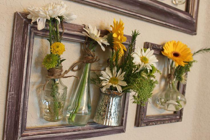 Искусственные цветы на стену мастер класс