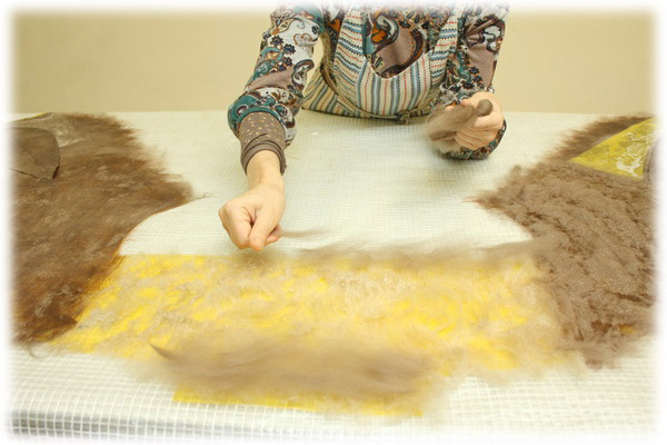 From Simple to Complex: Felting a Jacket with a Yoke, фото № 15