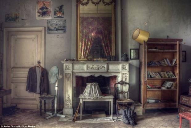 Заброшенная роскошь в бельгийском особняке, фото № 10