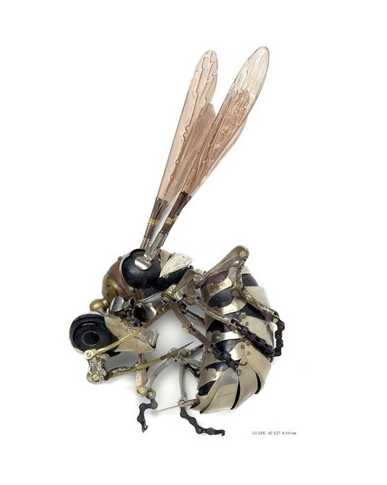 Металлически скульптуры Эдуарда Мартине, фото № 11