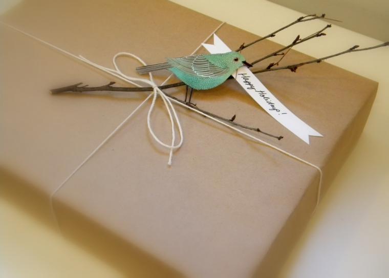 Как сделать из крафт бумаги упаковку для шоколада 17
