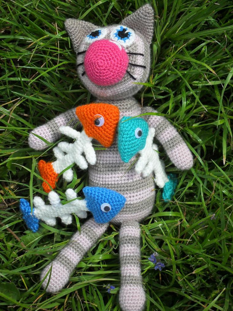 игрушка ручной работы, вязаная игрушка