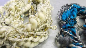 прядение шерсти, материалы для прядения