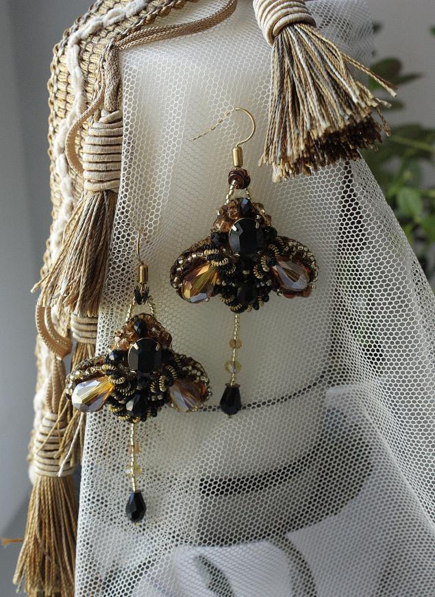 винтаж, кристаллы сваровски, бабочки