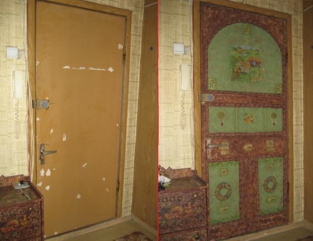 декор железных дверей