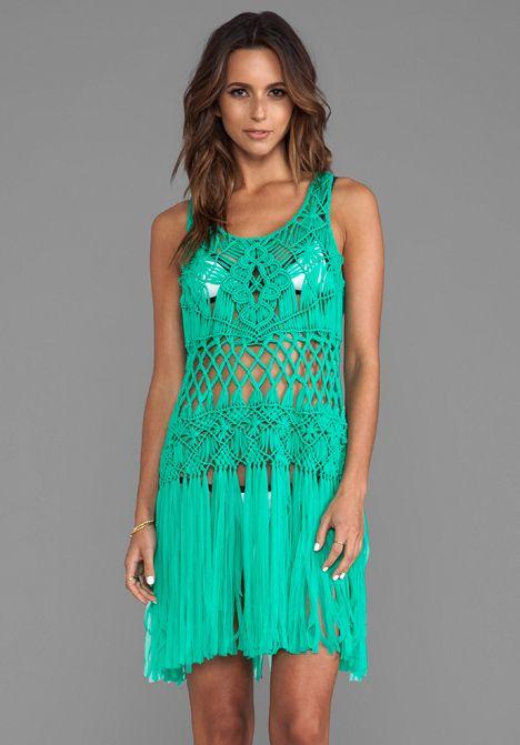 Макраме платье своими руками