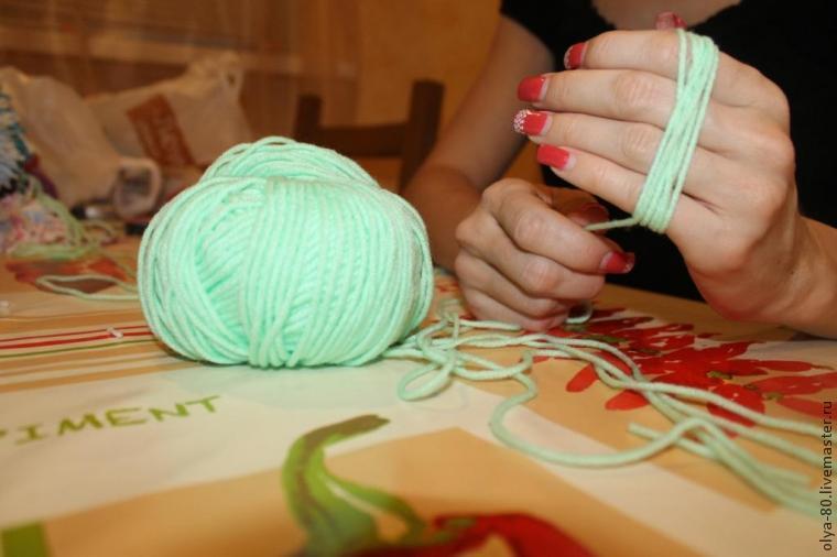 Процесс создания веселого коврика, фото № 4