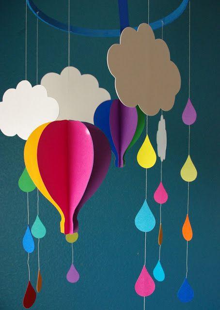 Бумажный воздушный шар