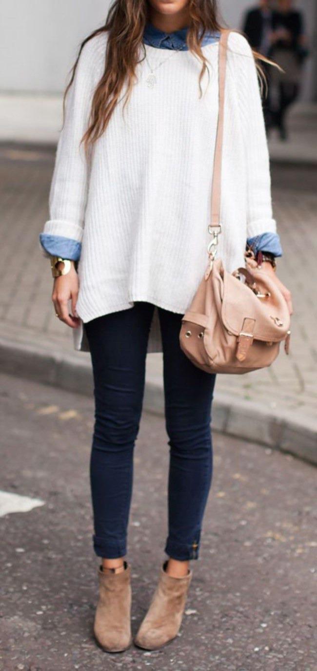 свитер объемный