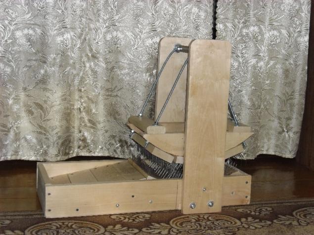 Прядильная машина в домашних условиях