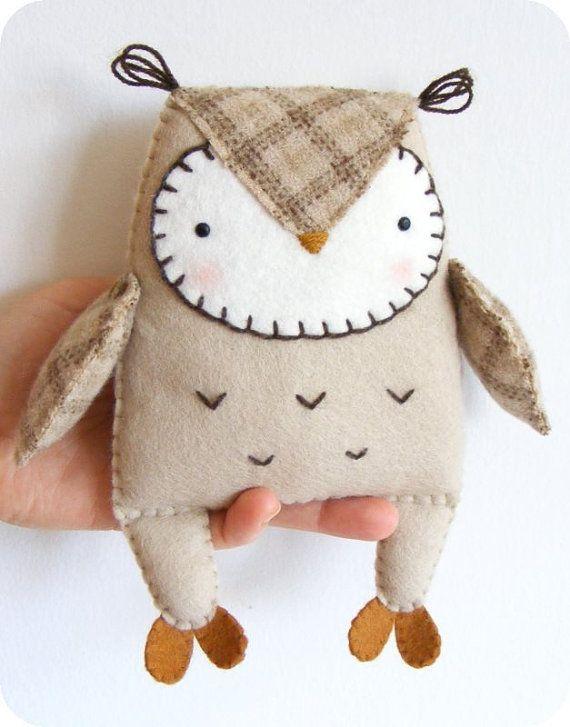 Felt Owl Softie