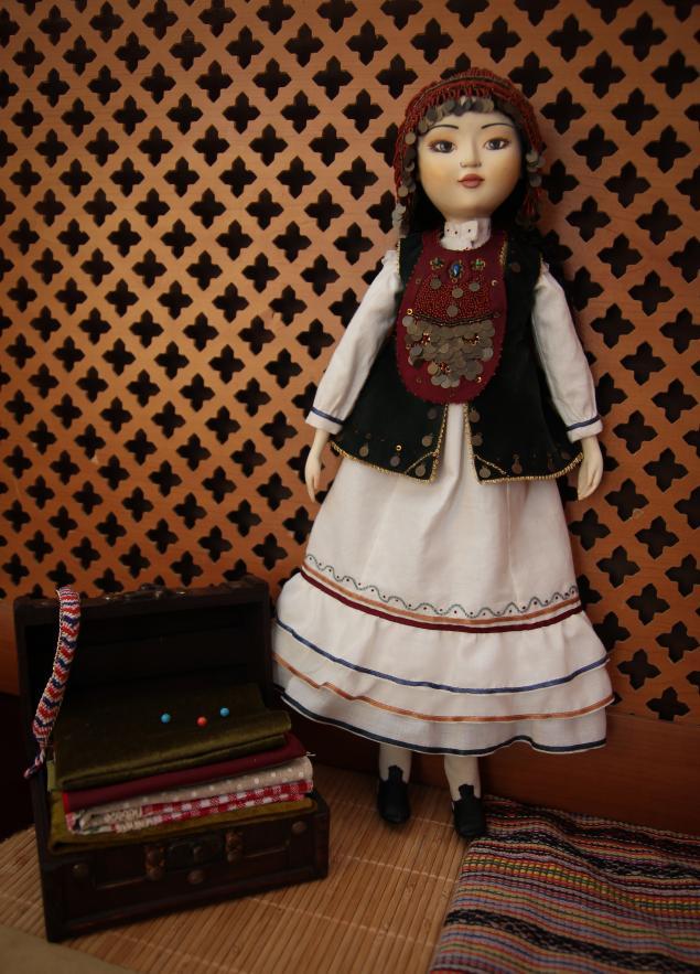 e863b7d0714 Кукла в национальном Башкирском костюме – Ярмарка Мастеров