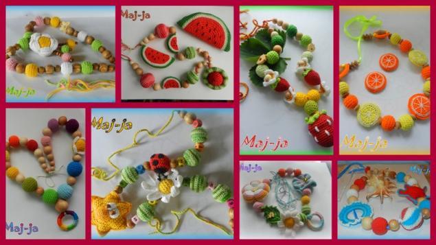 мастер-класс по вязанию, вязаные ягоды, вишня крючком, амигуруми