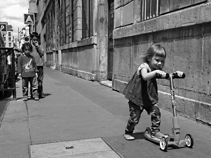 На самокате по Парижу