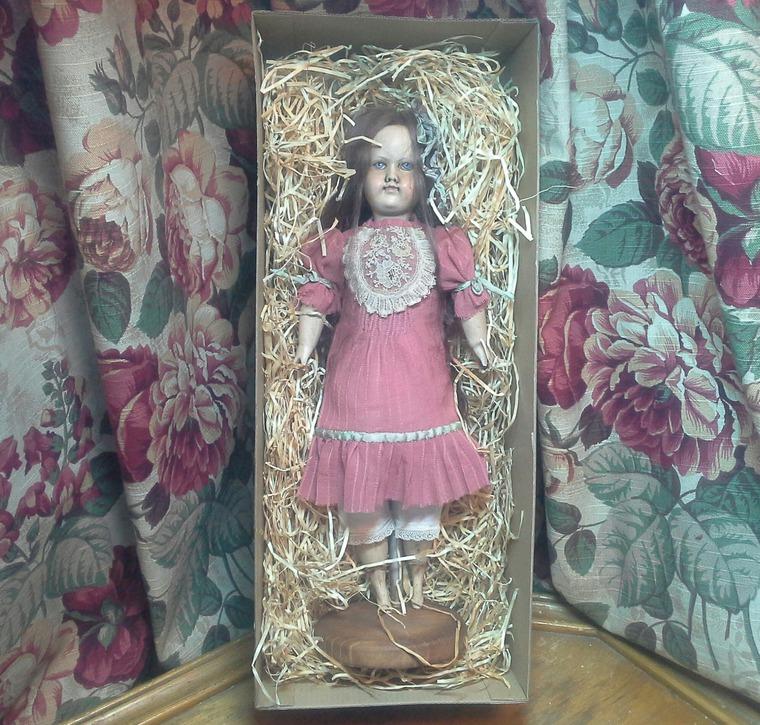 мастер класс, кукла, старинная кукла