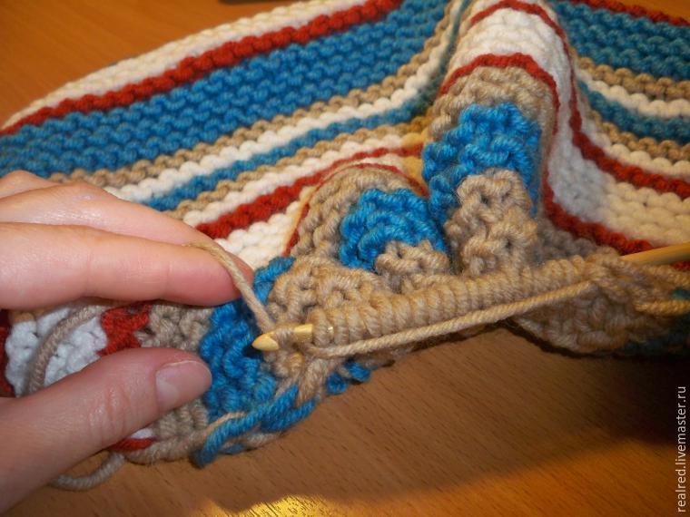 Вязание из гребенной ленты