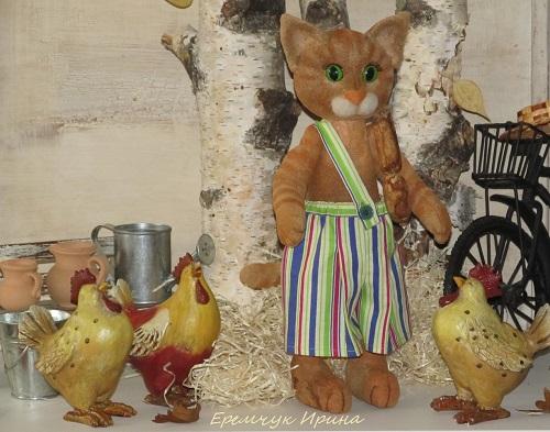 петсон и финдус, для детей, шитье игрушек