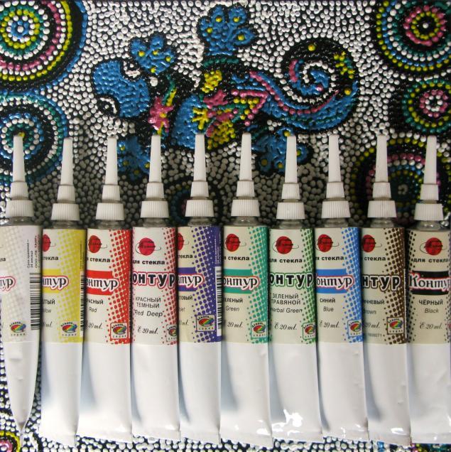 Наборы для росписи по стеклу