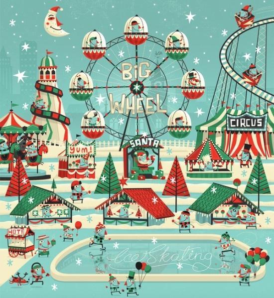 Праздничная подборка новогодних принтов, фото № 13