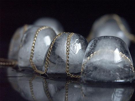бижутерия, ледяные украшения