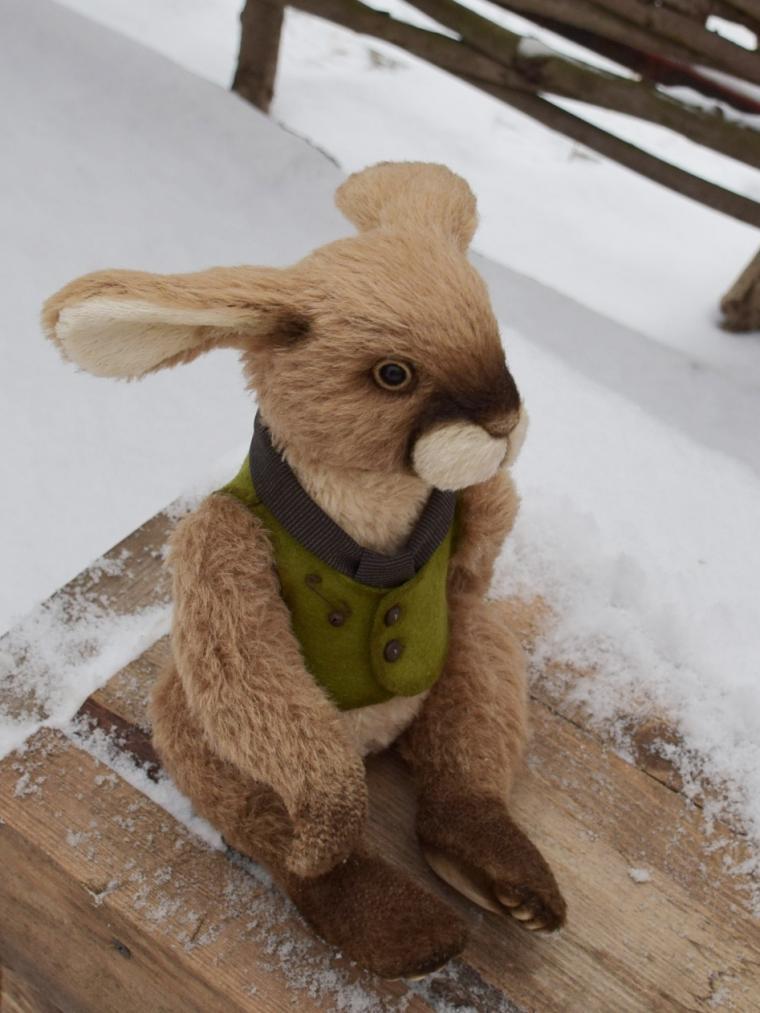 заяц, кролик, тедди, новое поступление, новое, как свалять, как сшить, альпака