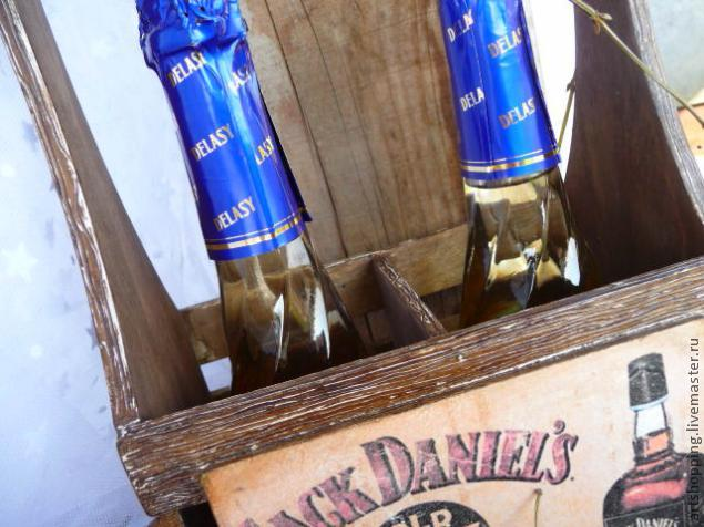 короб для шампанского