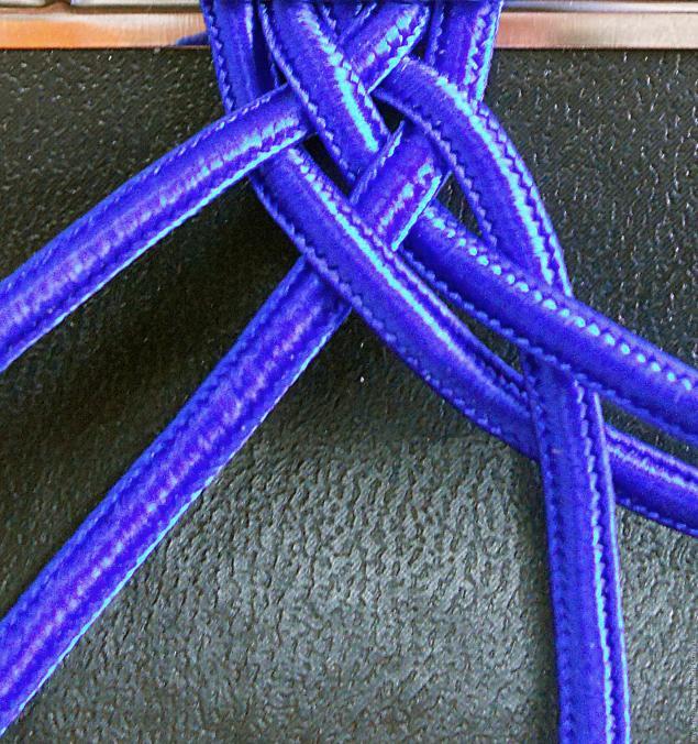 плетение из шнура, схемы