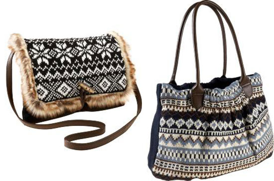 зимняя сумка своими руками :