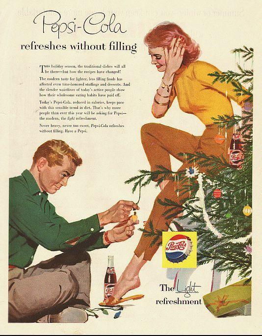 Новогодняя реклама Vintage/1951 -1956 включительно, фото № 54