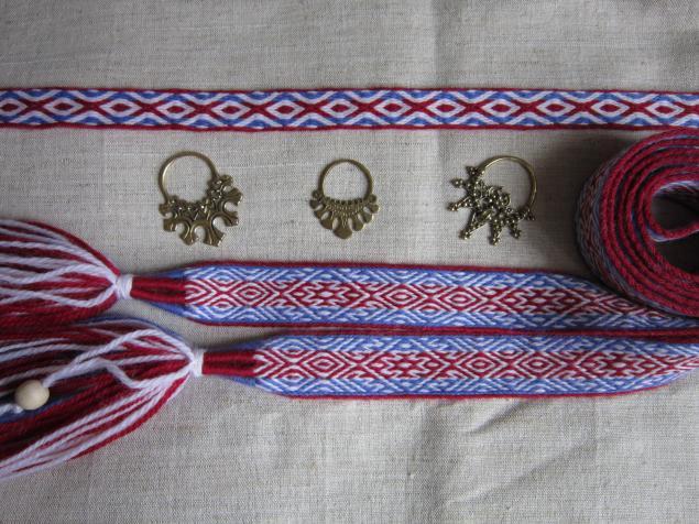 ткачество, русский стиль