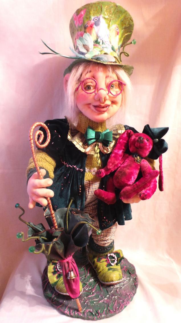интерьерная кукла, мастер-классы кукла