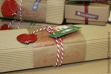 Сургуч упаковка подарков 68