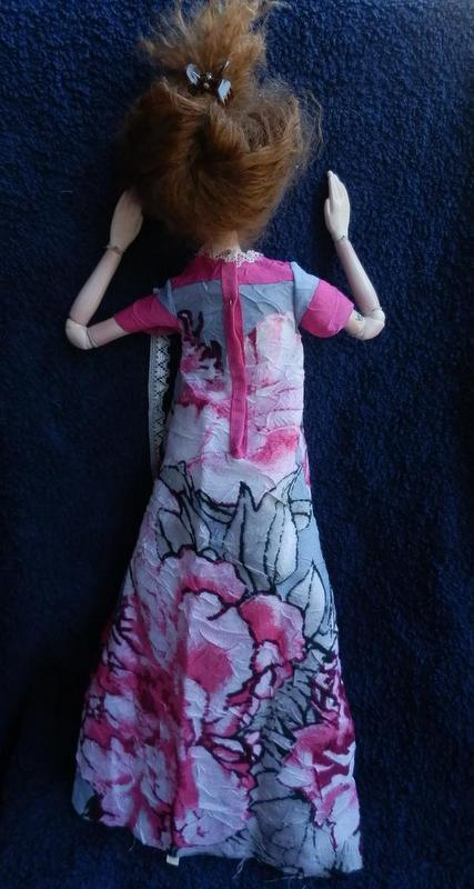 одежда для бжд, платье для бжд