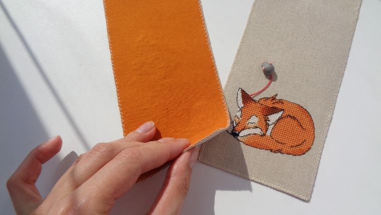 закладки для книг, лисёнок