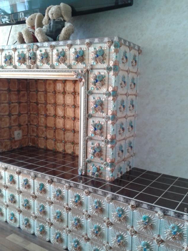 Кафельная плитка из гипса