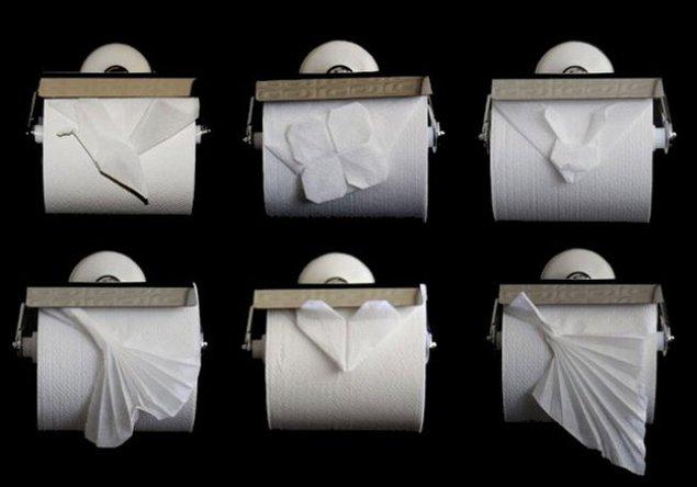 Оригами туалетная бумага 200